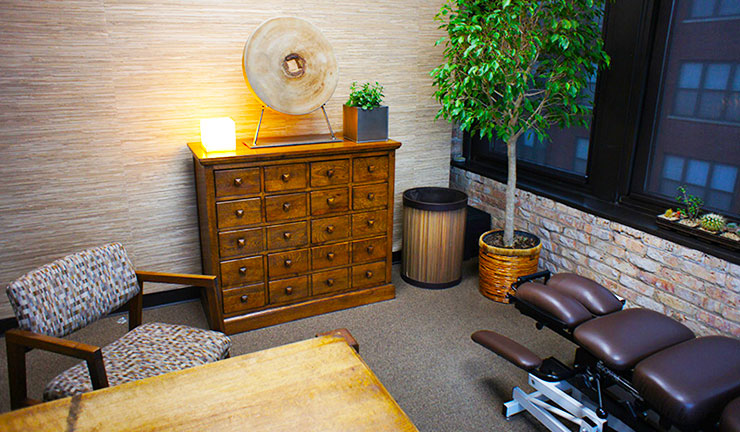 Photo of Progressive Chiropractic Wellness Center's treatment room