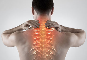 Upper back pain relief with cold laser therapy